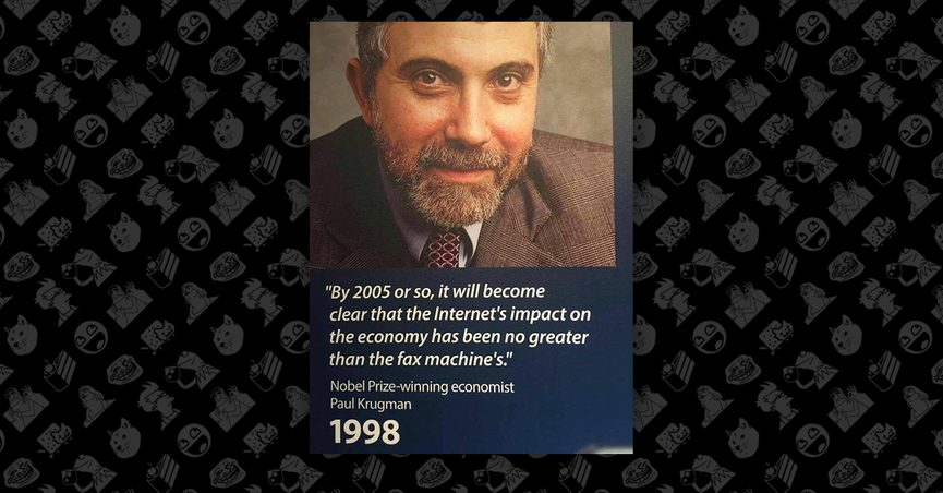 Fact Check Did Paul Krugman Say The Internet S Effect On