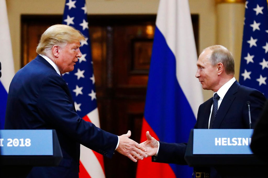 Trump Corrects His Quote, Says Misspoke on Russian Meddling