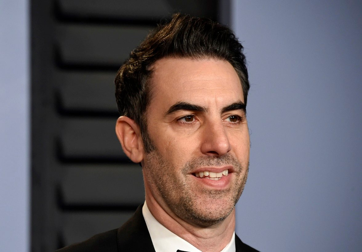 US politician denounces as 'sick fraud' Baron Cohen TV guns prank
