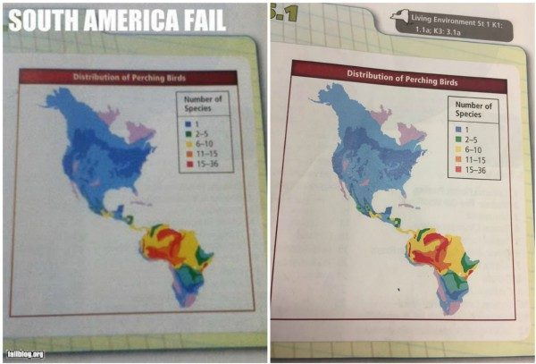 Fact check did a science textbook mistake africa for south america in our experience if an image is fake usually only one version of that image exists for instance were unlikely to see the same digitally edited road gumiabroncs Images