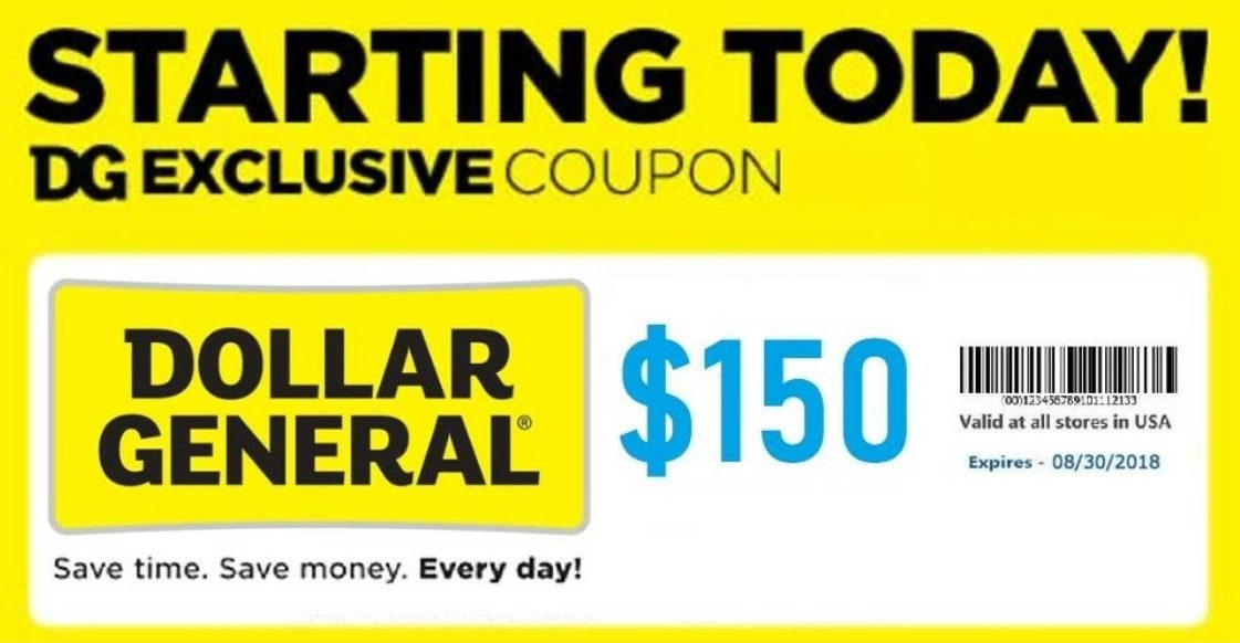 Dollar General 150 Coupon