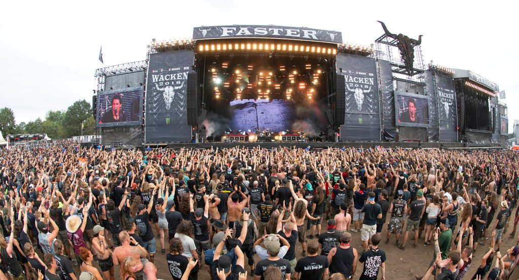 Two elderly men escape nursing home, found at heavy metal festival
