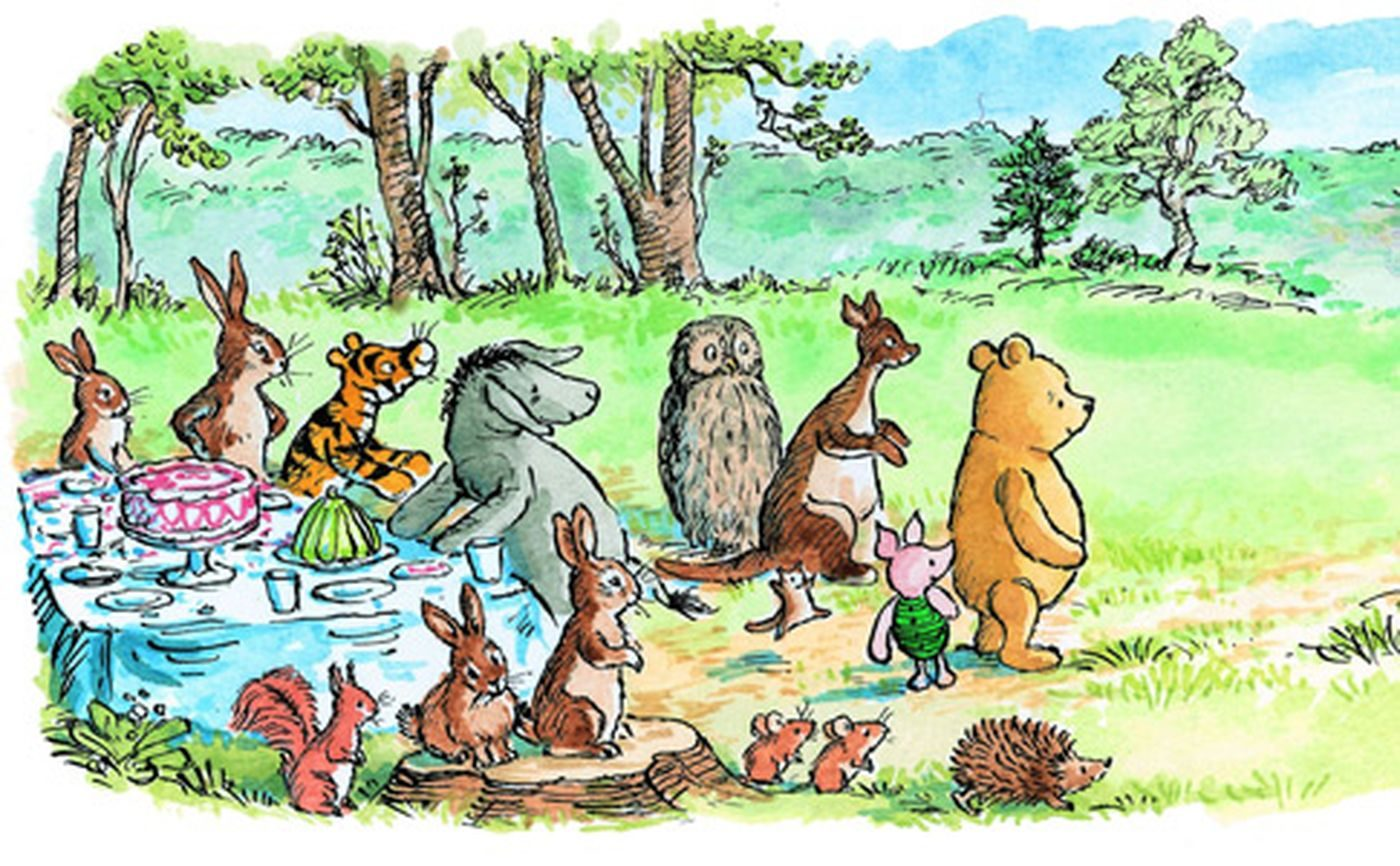 fact check were winnie the pooh characters created to represent