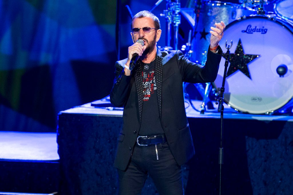 Ringo! Ex-Beatles Drummer Plays at Radio City Music Hall
