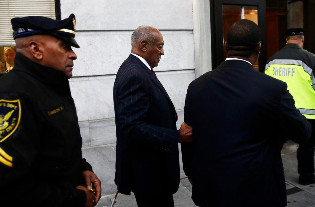 Sexual predator Bill Cosby sent to prison for up to ten years