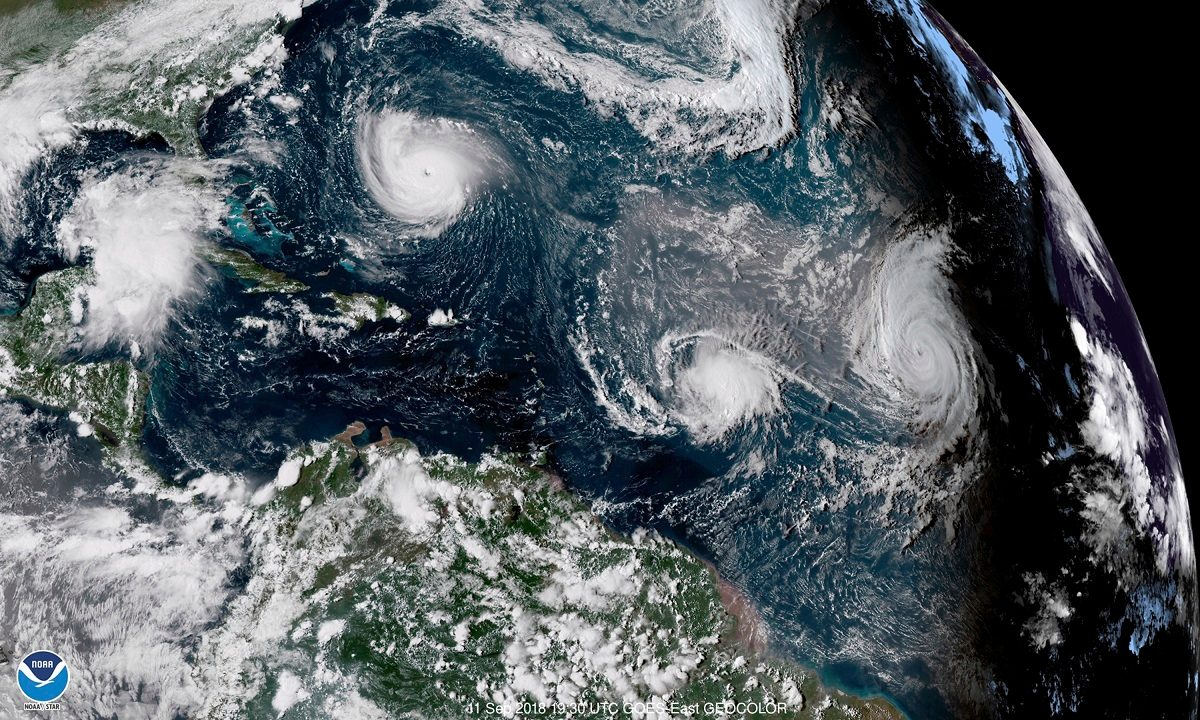 States Prepare for 'Storm of a Lifetime' as Hurricane Florence Looms