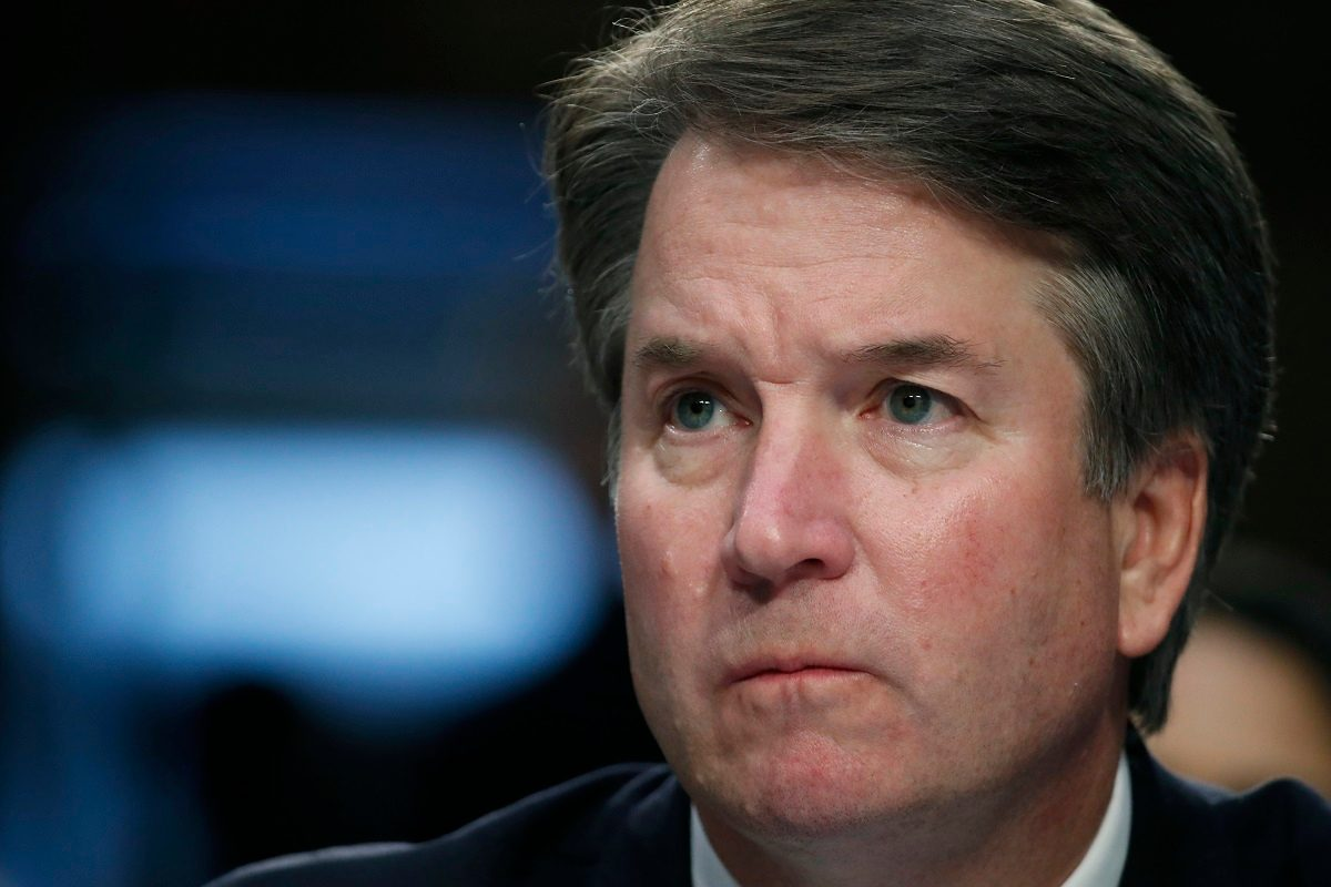 Brett Kavanaugh: accuser of Trump's Supreme Court pick goes public