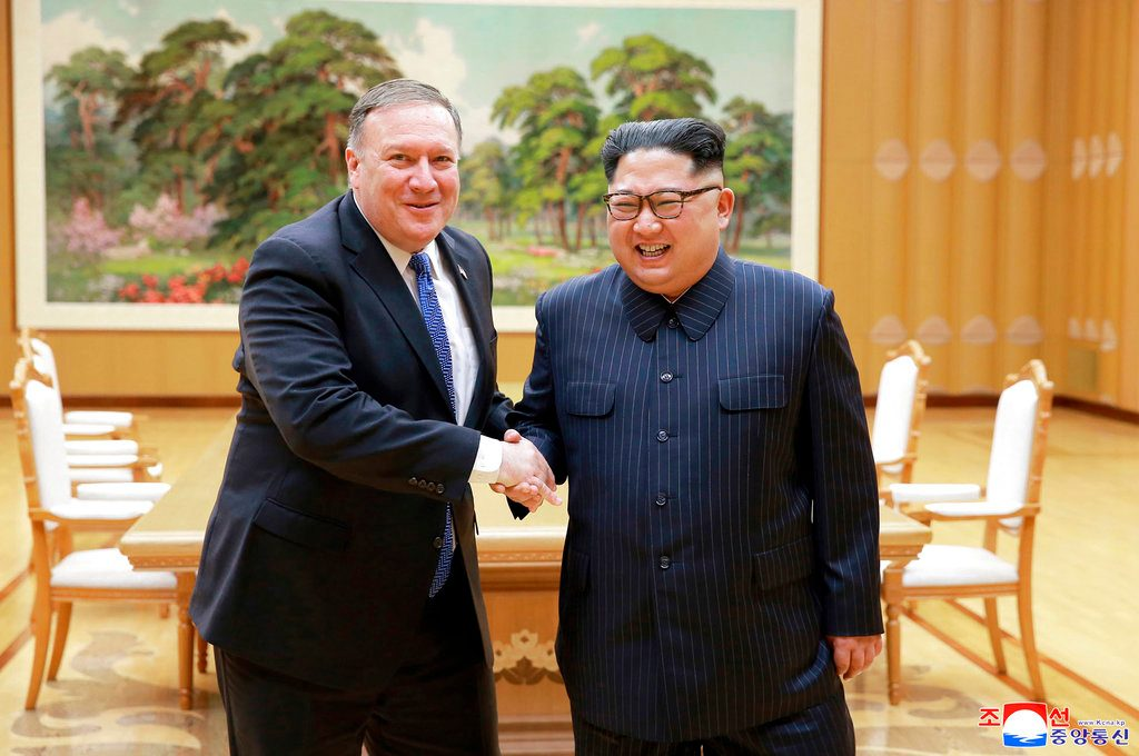 US secretary of state heads to North Korea for nuclear talks
