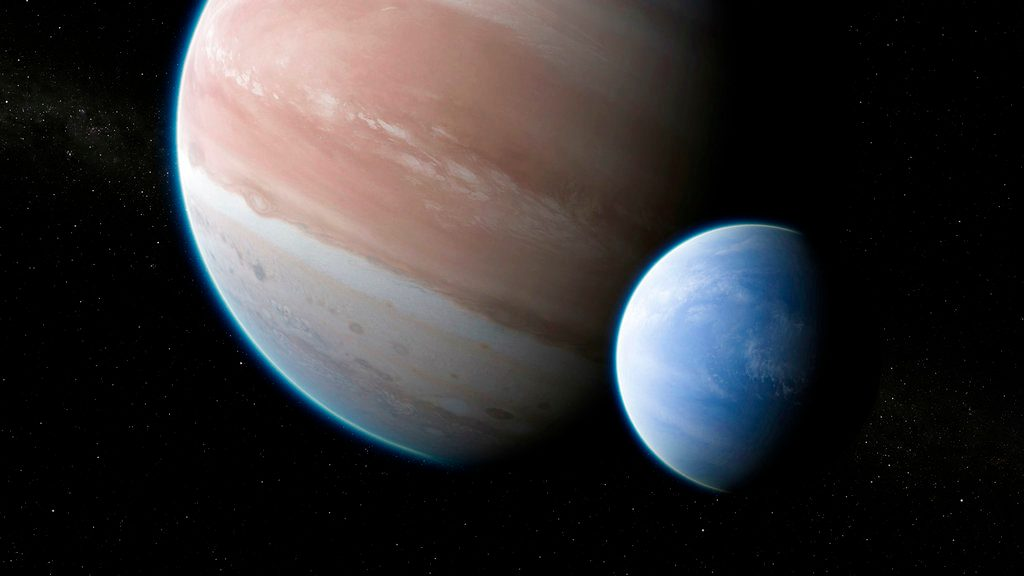 Evidence of possible exomoon detected for the first time