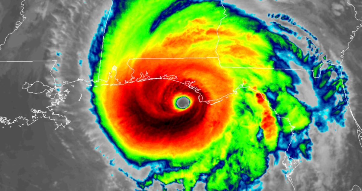 Watch Hurricane Michael make landfall on Florida webcams