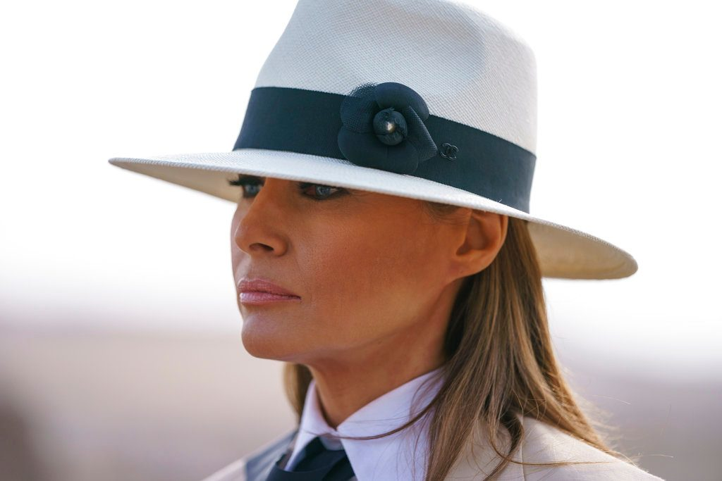 Melania Trump Says She Ignores Rumors of Trump's Infidelity