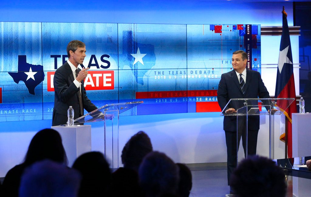 Left's claim O'Rourke beat Cruz in debate a fallacy?