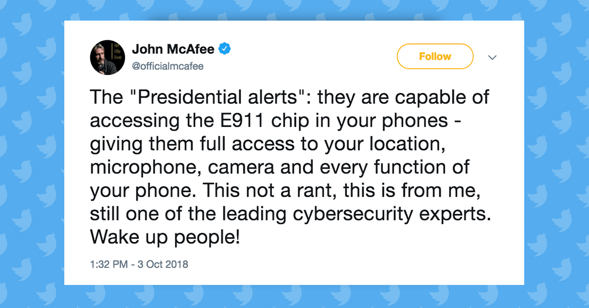 FACT CHECK: Do Presidential Alerts Give the Government Total Access to Your Phone?