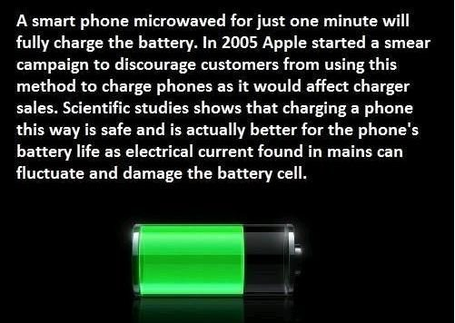 Fact Check Can You Recharge Your Cell Phone In A