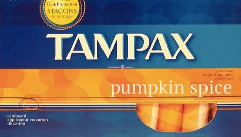 Has Tampax Come Out With A Pumpkin Spice Tampon