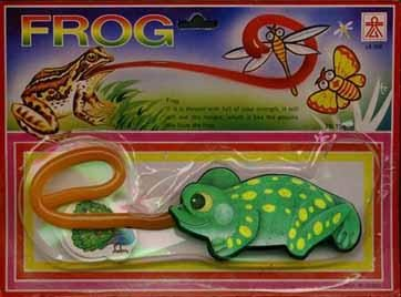 Frog tongue package