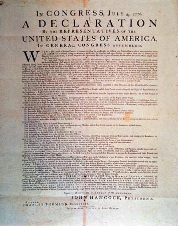 FACT CHECK: Declaration of Independence Find