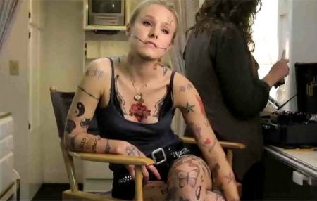fact check kristen bell most tattooed actress