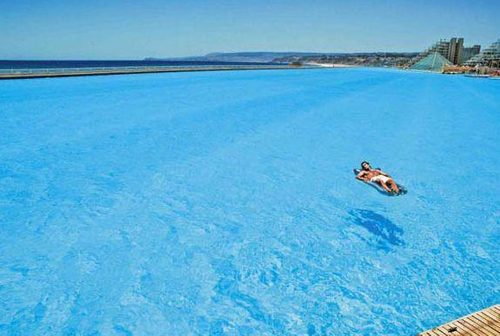 fact check world s largest swimming pool