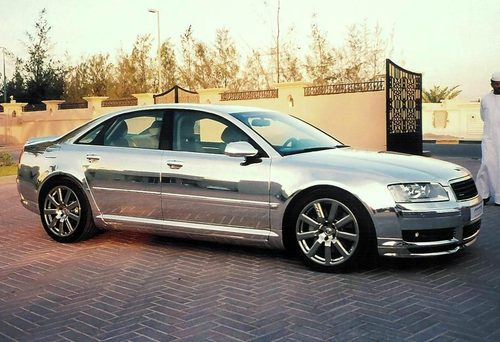 Silver Audi - Audi car made in which country