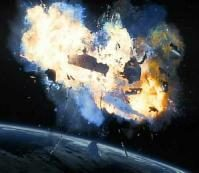 Space Shuttle Columbia Explosion