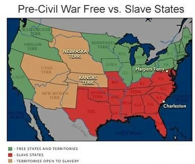 Pre Civil War Free Vs