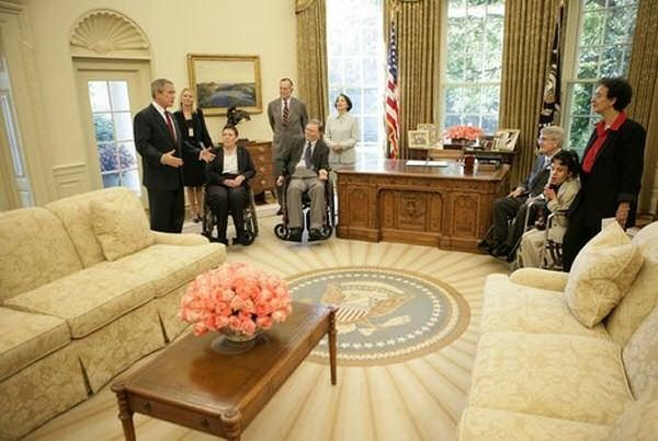 Muslim Prayer Curtain in the White House?