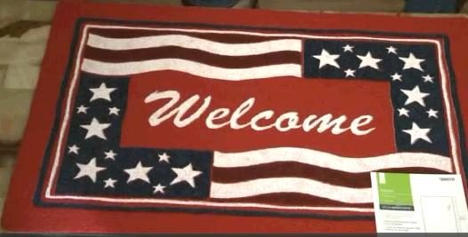 Literal Depictions Of The U.S. Flag On Doormats Do Exist, However, And  Other Retailers Have Responded To Consumer Complaints By Removing Them From  Their ...