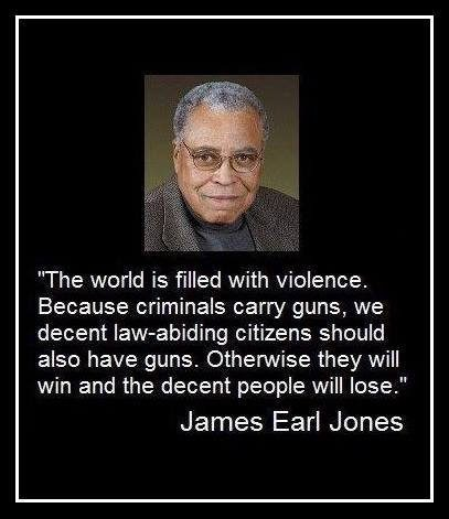 Gun Control Quotes James Earl Jones On Gun Control