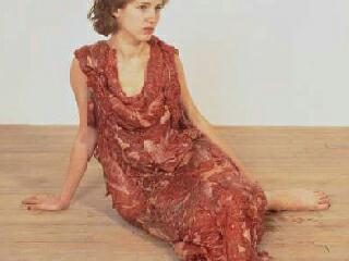 Meat dress image