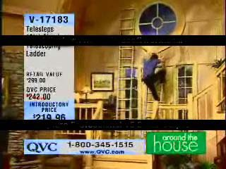QVC Ladder Fall