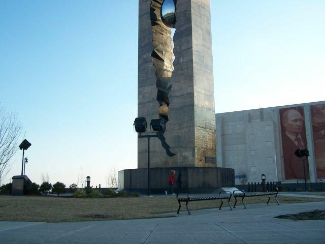 it is an impressive memorial and statement against terrorism