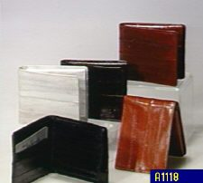 Eelskin wallets